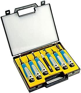 NOGA SP7700 7 Pc. Complete Deburring Tool Set in Plastic Case
