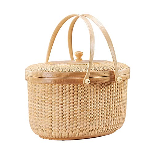 Purchase LiLi_Shop Picnic Baskets Fruit Basket Outdoor Picnic Fruit Basket Fruit Basket Picnic Baske...