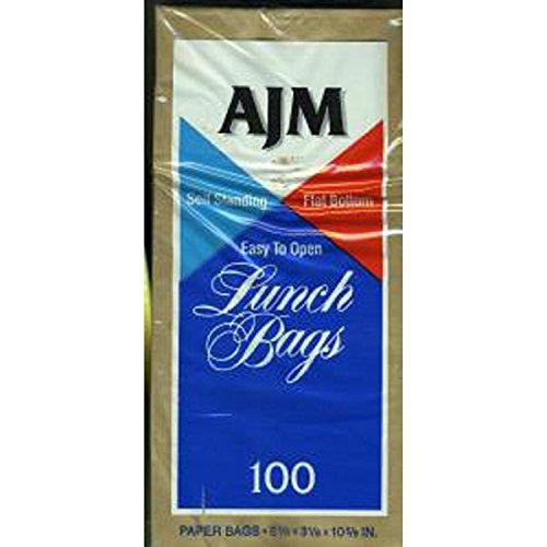Paper Lunch Bag - Smart Savers - 100 Bags Total