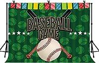 新しい5x3ft野球ゲーム写真の背景子供男の子BirtNEWay装飾バナーイベント写真小道具パーティーバナー写真スタジオ撮影小道具204