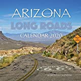 Arizona Long Roads Calendar 2020: 16 Month Calendar