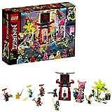 LEGO 71708 Ninjago Mercado de Jugadores, Juguete de Construcción para Niños a Partir de 7 años con 9 Mini Figuras de Ninjas