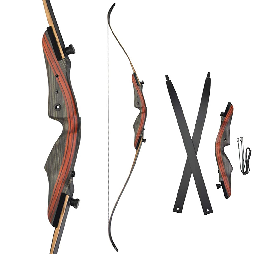 すでに子供っぽいグレートバリアリーフ「貝」リカーブボウ 伝統的な弓 木製 アーチェリー用 狩猟 練習