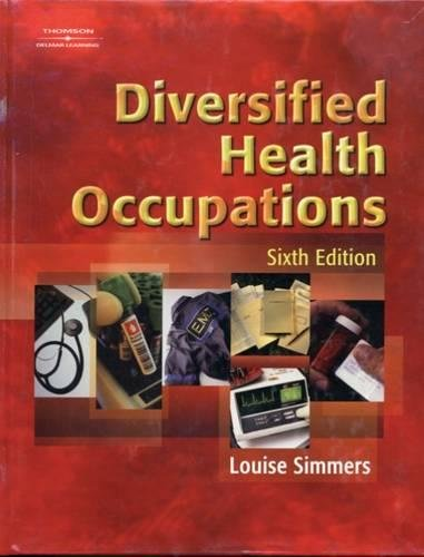 Diversified Health Occupations, 6th Edition