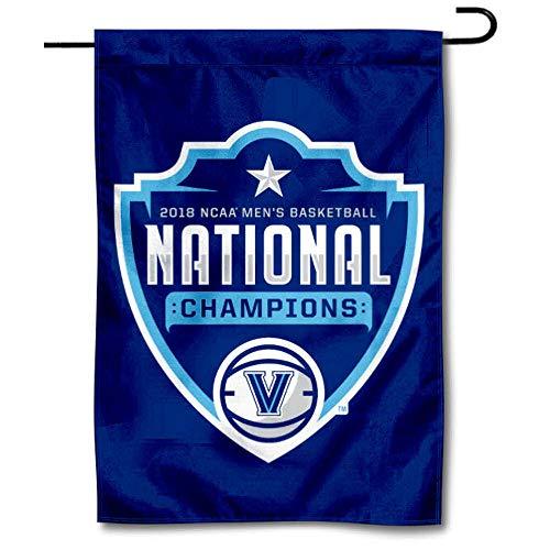College Flags & Banners Co. Villanova Wildcats Basketball 2018 National Champions Garden Flag