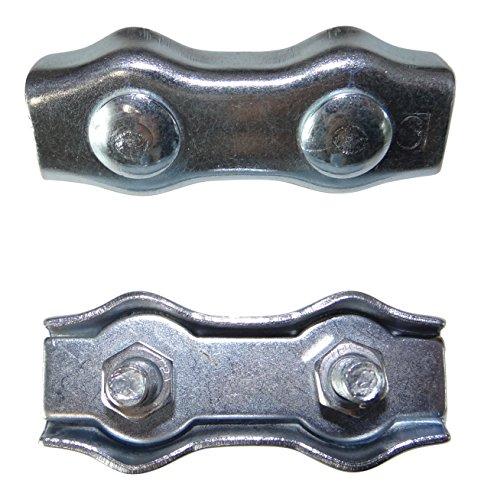 25er Pack MultiBros Litzenverbinder Seilverbinder 3-5 - 6 mm 3 mm / 25