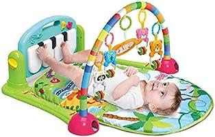 بساط بيبي بيانو للعب والانشطة التعليمية لحديثي الولادة