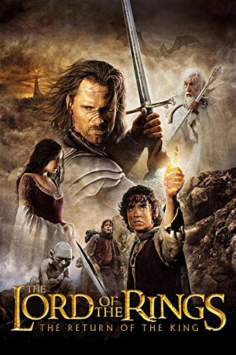 K4MPRINT LORD OF THE RINGS RETURN OF THE KING 2003 A3 POSTER ON 250GSM PRINT MATERIAL