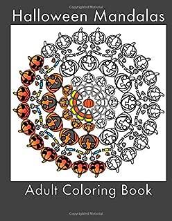 Halloween Mandalas: Adult Coloring Book