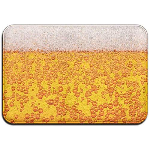 Felpudos Felpudo Cervezas Espuma Bebida Antideslizante