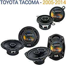 Compatible with Toyota Tacoma 2005-2014 Factory Speaker Replacement Harmony Upgrade Package New