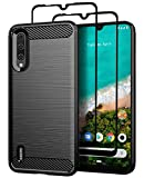 Teayoha Case for XiaoMi Mi A3, with Tempered Glass Screen