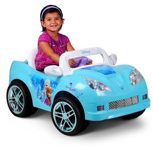 Disney Frozen Convertible Car 6-Volt Battery-Powered Ride-On Now $69 (Was $200)