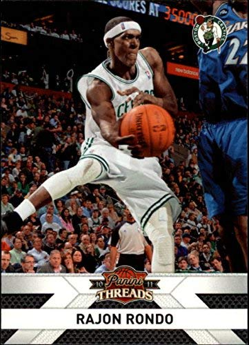 2010-11 Panini Threads #93 Rajon Rondo NBA Basketball Trading Card