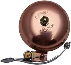 Crane Suzu Lever Strike Bicycle Bell - Copper