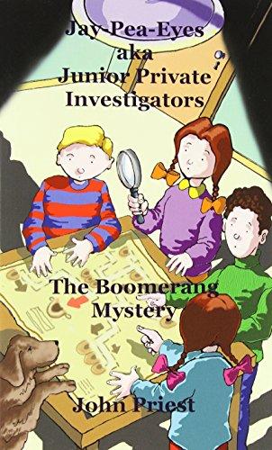 Book: Jay-Pea-Eyes aka Junior Private Investigators by John Priest