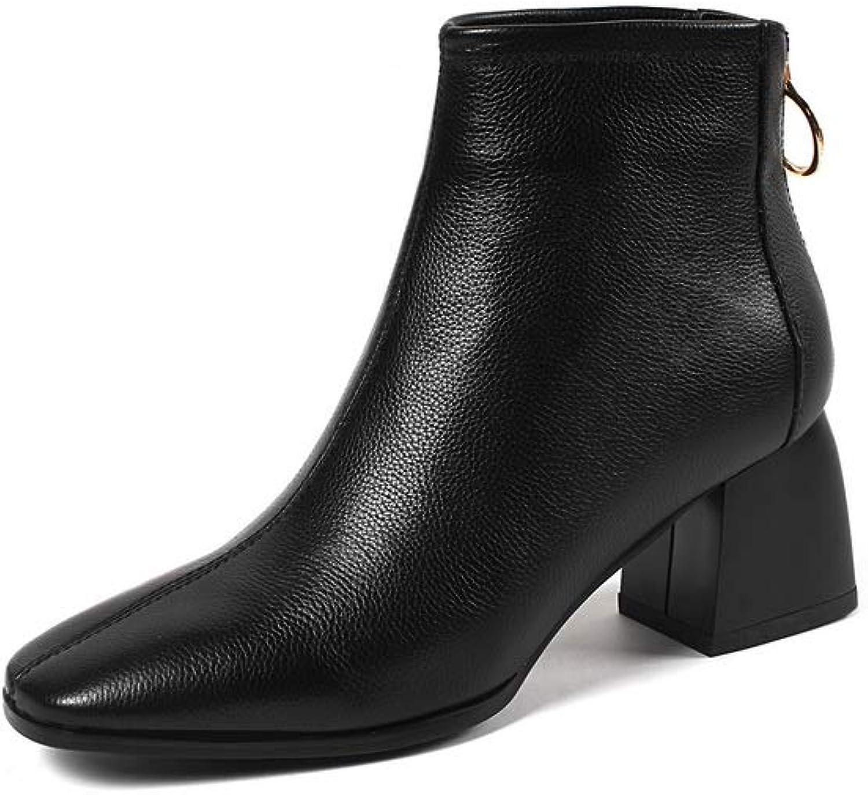 AdeeSu Womens Fabric Solid Bucket-Style Urethane Boots SXE05022