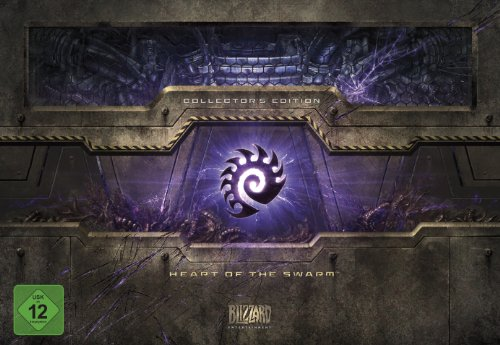 StarCraft II: Heart of the Swarm (Add-On) - Collector's Edition