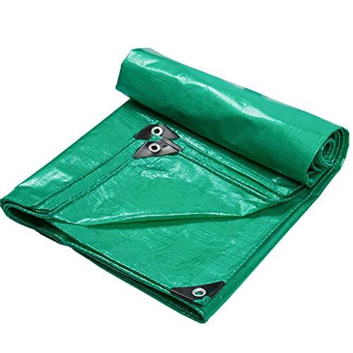 YALAY Bâches Bâche Protection Solaire imperméable à l'eau épaississement Pluie Ombre Tissu d'isolation Tissu de Pluie en Plastique canopée Toile Camion de Tissu d'huile Bâche
