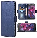 Phone Case for Moto X4 Folio Flip Wallet Case,PU Leather Credit Card Holder Slots Full Body Protection Kickstand Protective Phone Cover for Motorola MotoX4 X 4th Generation 4X 4 Gen XT1900-1 DarkBlue