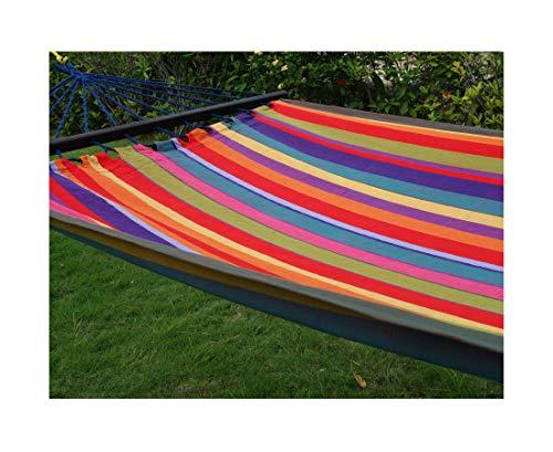 export sal hangmat Rainbow met spreidstok, lengte 295 cm, van katoen