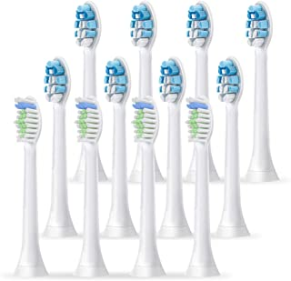 ASprink 12 Pcs Replacement Brush Heads mpatible with Phillips Sonicare Electric Toothbrush,HX 9034/9064 6063/6064 DiamondClean Toothbrush Heads Fit 2 Series, 3 Series Gum Health. Diamondwhite, Diamon