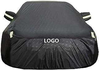 RMG R06V002 Telo copriauto idroreppellente in poliestere anti strappo resistente al sole pioggia neve sporcizia vento per MiTo copri auto resistente misura 430 x 195 x 120 cm