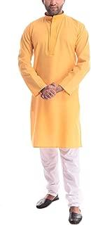 Royal Kurta Mens Khadi Self Design Kurta Pyjama