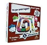 Detvai Do You Speak English? Board Game Brettspiel für Englischunterricht, Englisch Lernen für Kinder und Erwachsene, für Anfänger und Fortgeschrittene