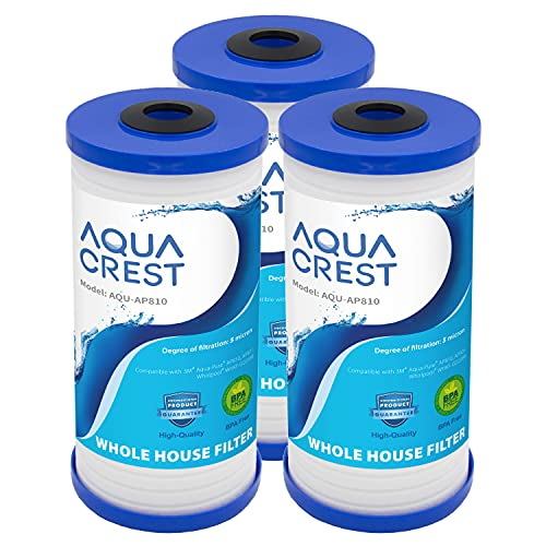 AQUACREST AP810 Whole House Water Filter, Replacement for 3M Aqua-Pure...