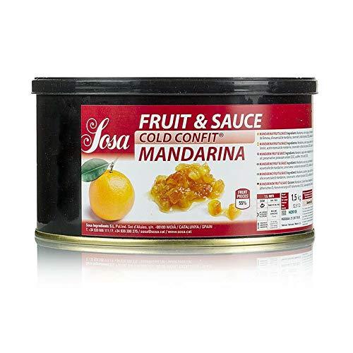 Cold Confit - Mandarine, Fruit & Sauce, mit Schale, 1,5 kg
