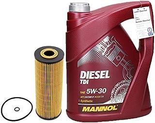 Motorenöl Diesel TDI 5W 30 5L Liter + Ölfilter