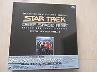 スタートレック ディープ・スペース・ナイン フィフス・シーズン Vol.1【二ヵ国語版】 [Laser Disc]