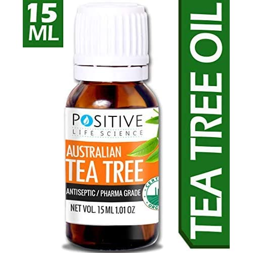 Positive Tea Tree Essential Oil for Skin and Hair - 15 ml