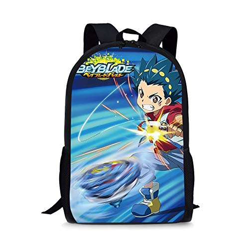 Bey-blade Kinomiya Takao Kids Backpack Book Bag Rucksack -Lightweight School Bags with Lunch Bags for Student Men Women (Backpack 8)