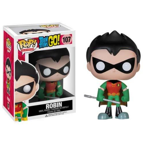 Funko - Pdf00004267 - Figurine Bande Dessinée - Pop - Teen Titans Go - Robin