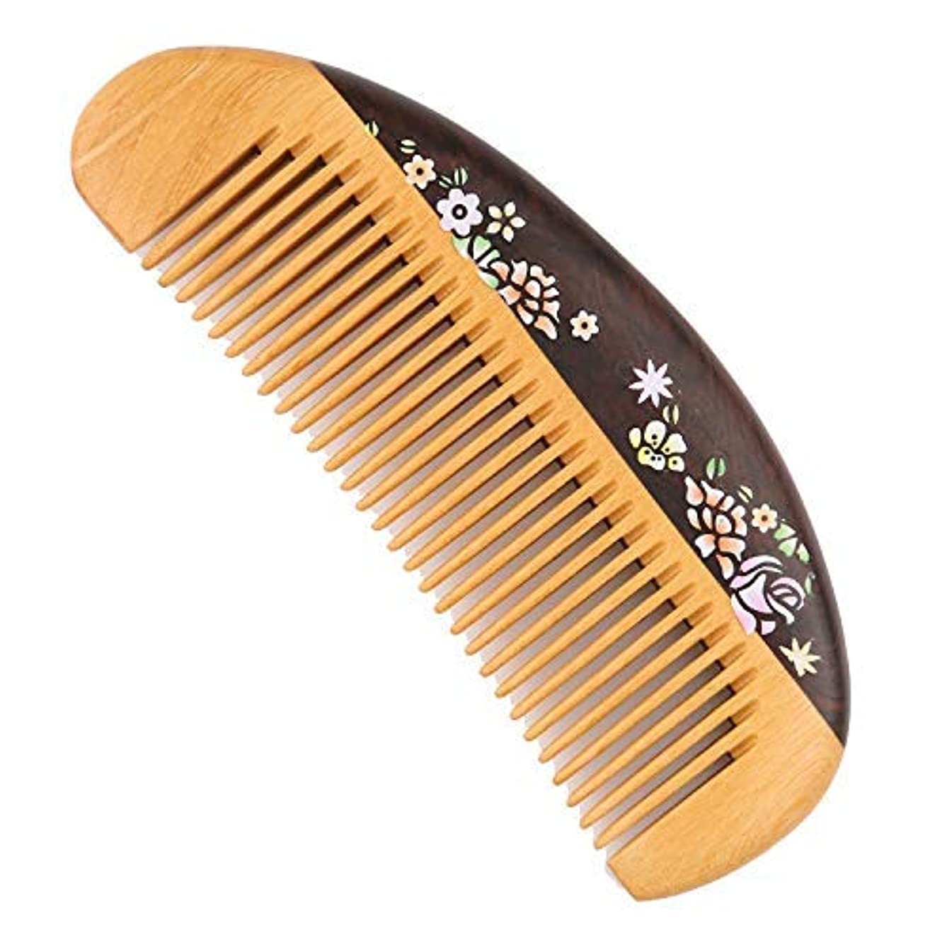 狂気ファッション市の中心部Fine Tooth Wooden Comb [Gift Box] -LilyComb No Static Pocket Wood Comb for Girl and Women- Birthday Anniversary Gift for Daughter Wife Girlfriend Friends Family Member [並行輸入品]