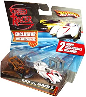 Hot Wheels HW Speed Racer 1:64 2- Pack GRX VS MACH 6