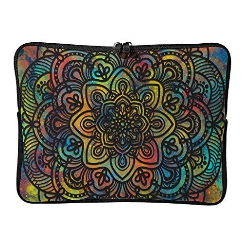 Standard laptop bags, multi-coloured, wear-resistant, romantic tablet briefcase, suitable for commuters.