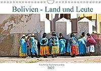 Bolivien - Land und Leute (Wandkalender 2022 DIN A4 quer): Bolivien, ein lateinamerikanischer Binnenstaat mit lebendiger Tradition und spektakulaerer Natur (Monatskalender, 14 Seiten )