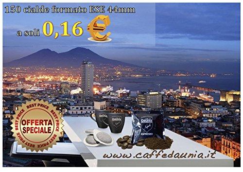 Cialde 150 Caffè in Cialde ESE compatibili diametro 44 'miscela Napoli'