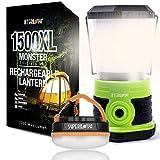 Camping Lantern Bundle - Internova 1500XL Camping Lantern + Halo 150 Tent Lantern Gift Set