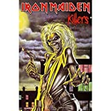 Rz Iron Maiden Killers Groß Fabric Poster/Flagge 1100mm X
