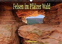 Felsen im Pfaelzer Wald (Wandkalender 2022 DIN A3 quer): Seltene Felsen im Suedpfaelzer Wald (Monatskalender, 14 Seiten )
