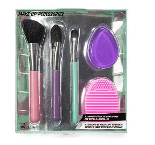 IDC Design set 3 brochas de maquillaje