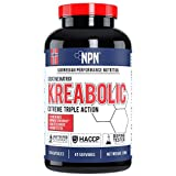 NPN Kreabolic | Triple creatine mix for explosive strength | Muscle strenght