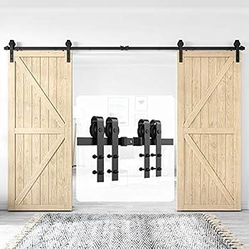 Best barn door hardware double Reviews