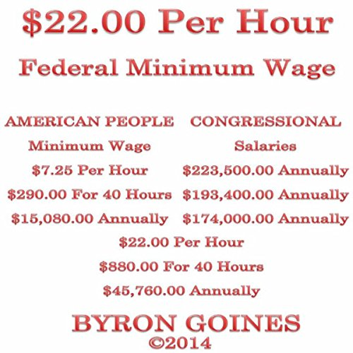 $22.00 Per Hour Federal Minimum Wage audiobook cover art