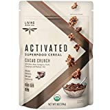 Living Intentions Organic Superfood Cereal – Cacao Crunch – NonGMO – Gluten Free – Vegan – Kosher – 9 Ounce Unit (1 Pack) by Living Intentions