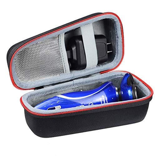Hart Schutz Hülle Etui Tasche für Philips PT860/16 S3510/06 PT919/16 PT739/18 PT727/16 S5420/06 S5320/06 S5130/06 / AquaTouch Series 5000 Elektrischer Trockenrasierer PowerTouch Rasierer by WERICO